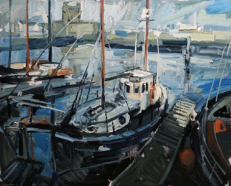 Oil Paintings In Belfast Harbour Office