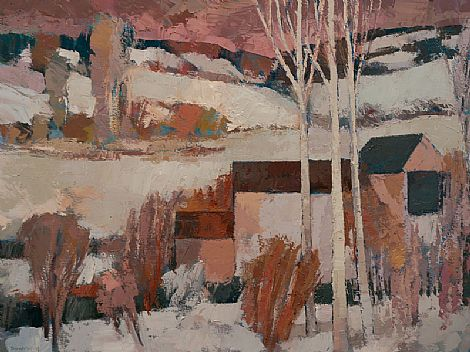 Click to enlarge Winter Farm  by Paul Donaghy