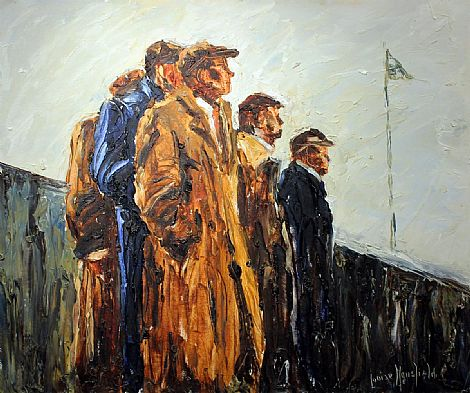 Click to enlarge Punchestown Races by Louise Mansfield