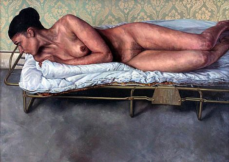 Click to enlarge Nude II by Ian Cumberland