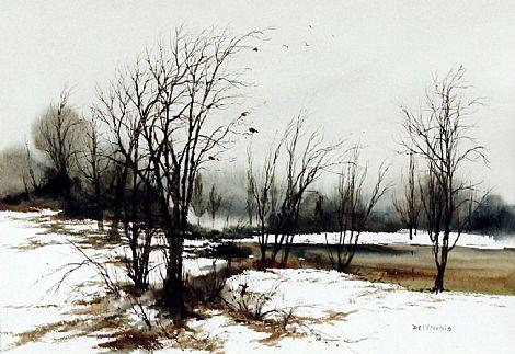 Click to enlarge Landscape by Phyllis Del Vecchio