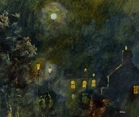 Click to enlarge Moonlight and Lamplight by Tom Kerr