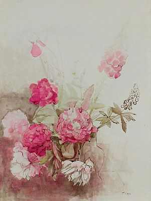 Click to enlarge Pink Bouquet by Tom Carr