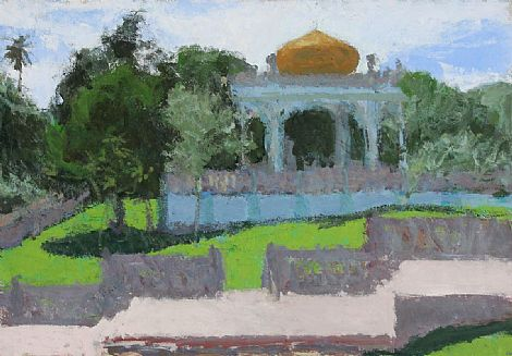 Click to enlarge Tomb Of Sultan Bolkiah, Brunei by Colin Watson
