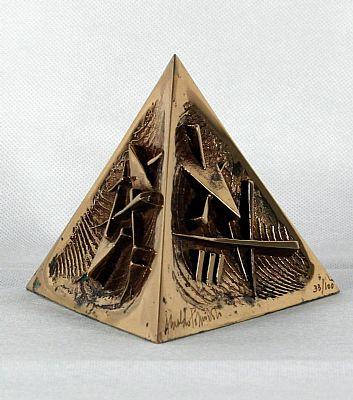 Click to enlarge Pyramid  by Arnaldo Pomodoro