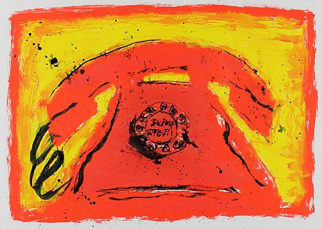 Click to enlarge Red Phone by Neil Shawcross