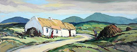 Click to enlarge In Donegal by John T Bannon