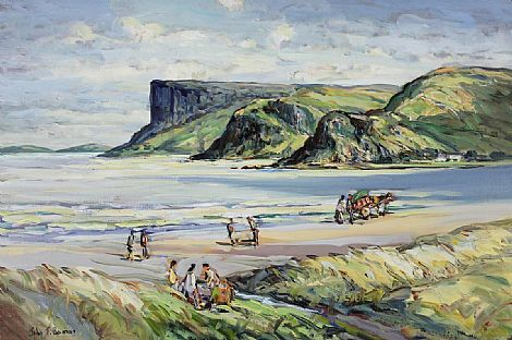 Click to enlarge Fairhead by John T Bannon