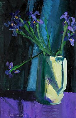 Click to enlarge Irises In A Jug by Brian Ballard