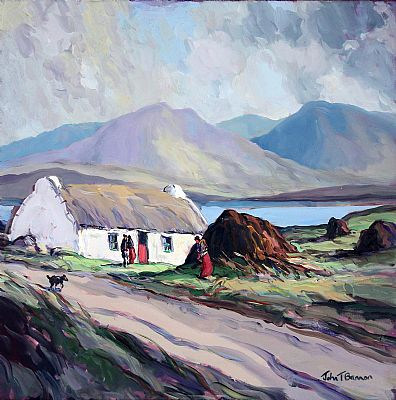 Click to enlarge In Connemara by John T Bannon