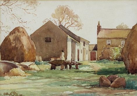 Click to enlarge Irish Homestead by Maurice C Wilks