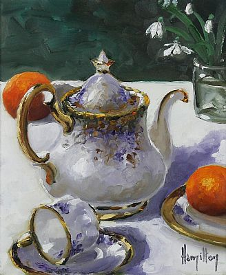 Click to enlarge Still Life With Teapot by Ken Hamilton
