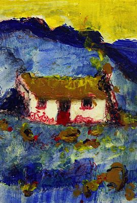 Click to enlarge Irish Cottage by Marie Carroll