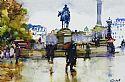 View Trafalgar Square November