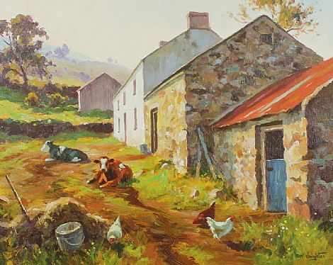 Click to enlarge Farmyard by Donal McNaughton