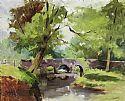 View Bridge Over River