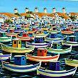 View Fishing Boats, Mykonos