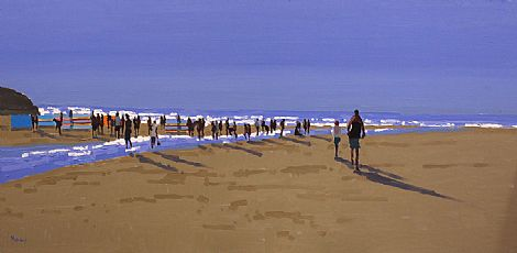 Click to enlarge Summer Ballybunion by John Morris