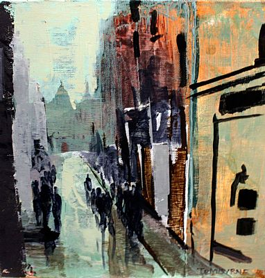 Click to enlarge Cathedral Walk by Tom Byrne